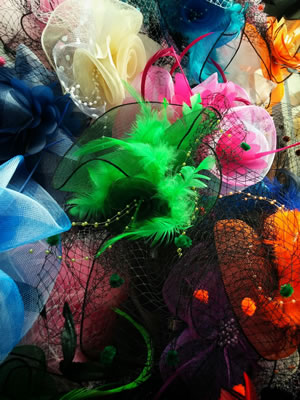 Fascinators for the Melbourne Cup looking smart