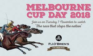 Melbourne Cup Day at P.J. O'Brien's Sydney