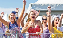 Melbourne Cup Day at Mansfield Racecourse